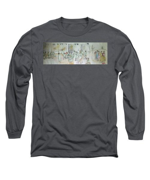 Mental Illness Hurts Album Long Sleeve T-Shirt