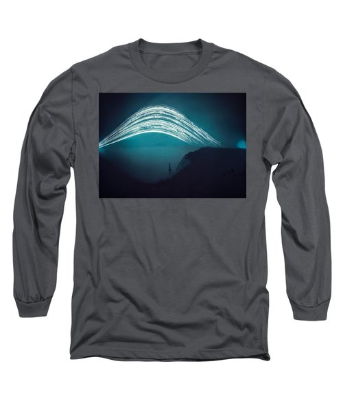 3 Month Exposure At Beachy Head Lighthouse Long Sleeve T-Shirt