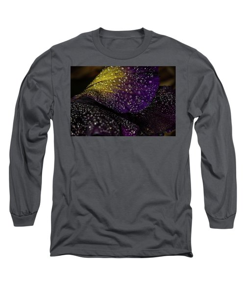 Purple And Yellow Long Sleeve T-Shirt