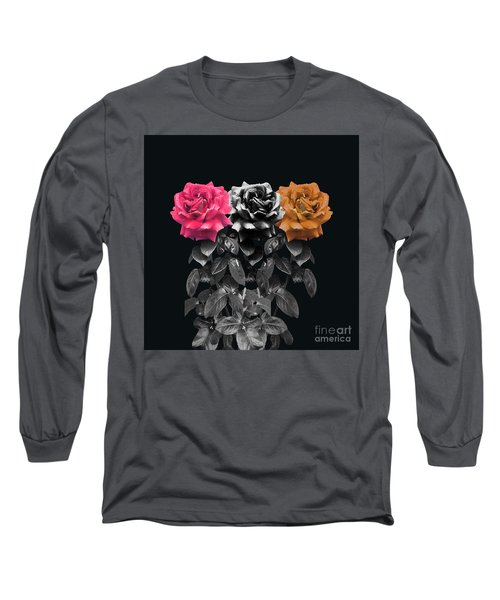 3 Roses Long Sleeve T-Shirt