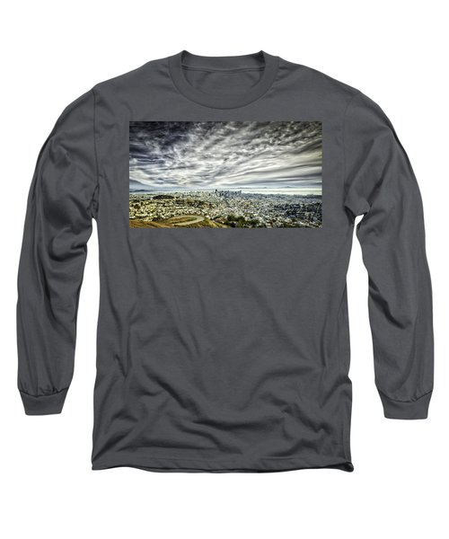 Long Sleeve T-Shirt featuring the photograph San Francisco by Chris Cousins