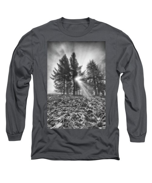Long Sleeve T-Shirt featuring the photograph Scottish Sunrise by Jeremy Lavender Photography