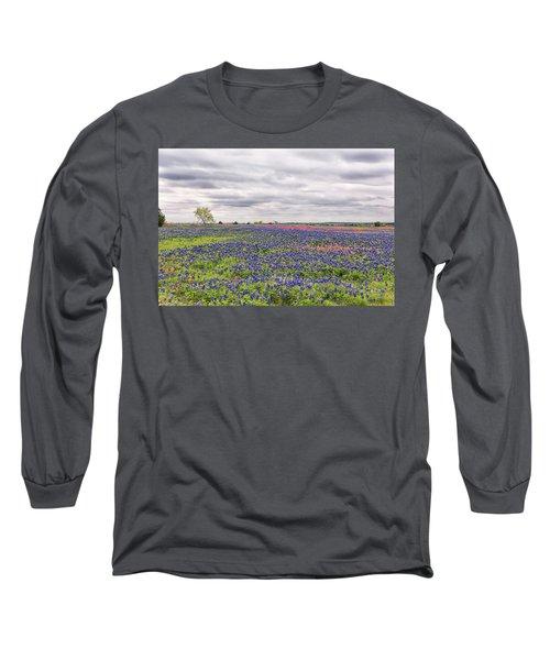 Texas Wildflowers 2 Long Sleeve T-Shirt