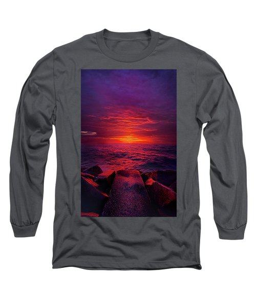 Long Sleeve T-Shirt featuring the photograph The Path by Phil Koch