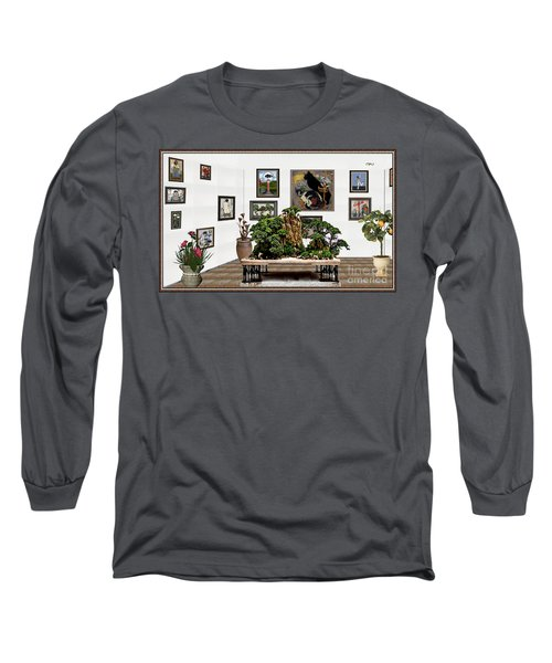 Virtual Exhibition -  Bonsai 16 Long Sleeve T-Shirt by Pemaro