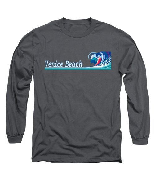 Venice Beach Long Sleeve T-Shirt by Brian Edward