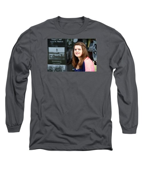 3429 Long Sleeve T-Shirt by Mark J Seefeldt