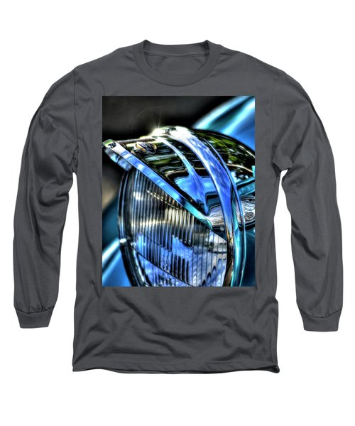 38 Ford Headlamp Long Sleeve T-Shirt by Jerry Sodorff