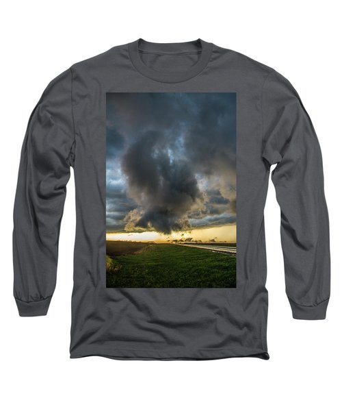 3rd Storm Chase Of 2018 050 Long Sleeve T-Shirt