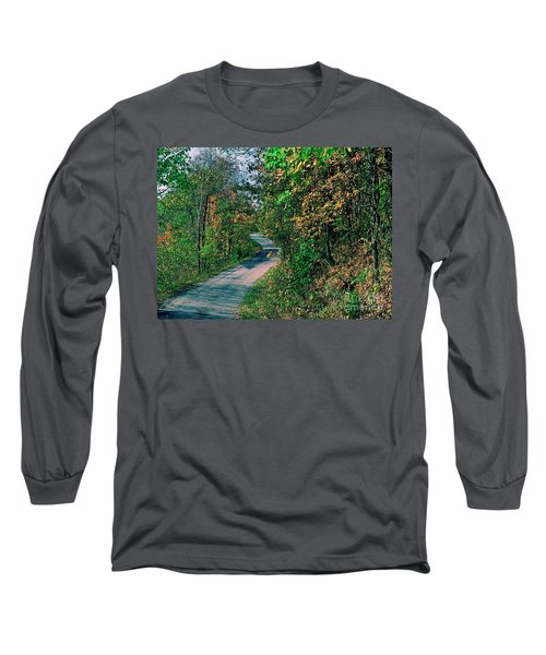 Long Sleeve T-Shirt featuring the photograph Autumn Colors by Gary Wonning