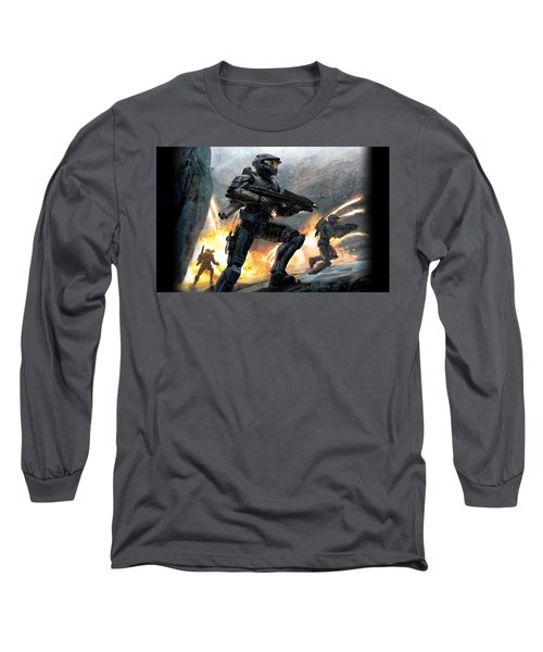 Halo Long Sleeve T-Shirt