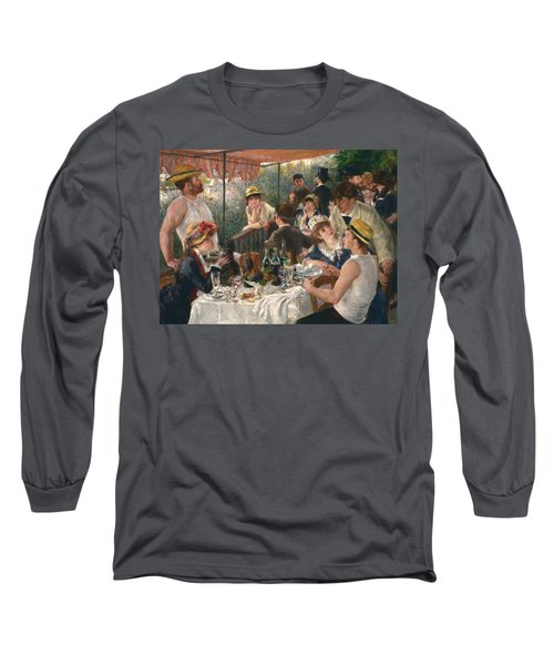 Luncheon Of The Boating Party Long Sleeve T-Shirt