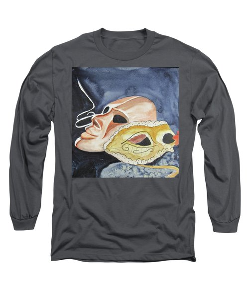 #4 Mask Removed Long Sleeve T-Shirt