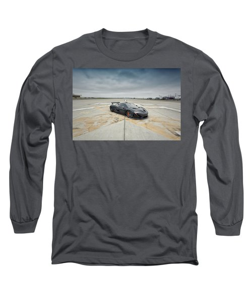 Long Sleeve T-Shirt featuring the photograph #mclaren #mso #p1 by ItzKirb Photography