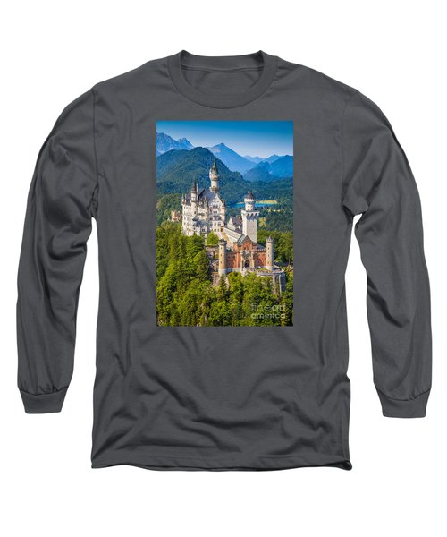 Neuschwanstein Fairytale Castle Long Sleeve T-Shirt