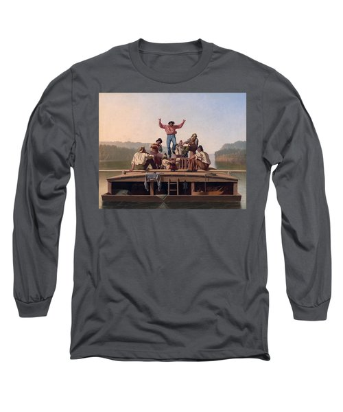 The Jolly Flatboatmen Long Sleeve T-Shirt