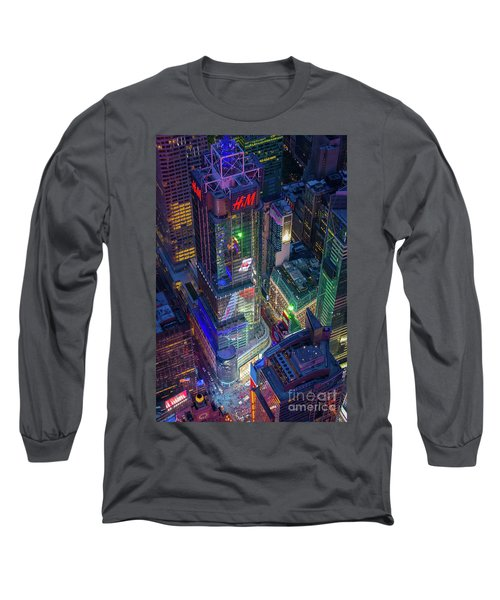 4 Times Square Long Sleeve T-Shirt