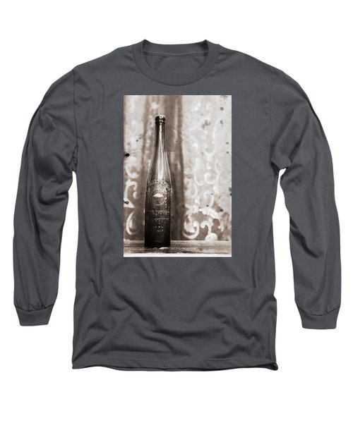 Long Sleeve T-Shirt featuring the photograph Vintage Beer Bottle by Andrey  Godyaykin