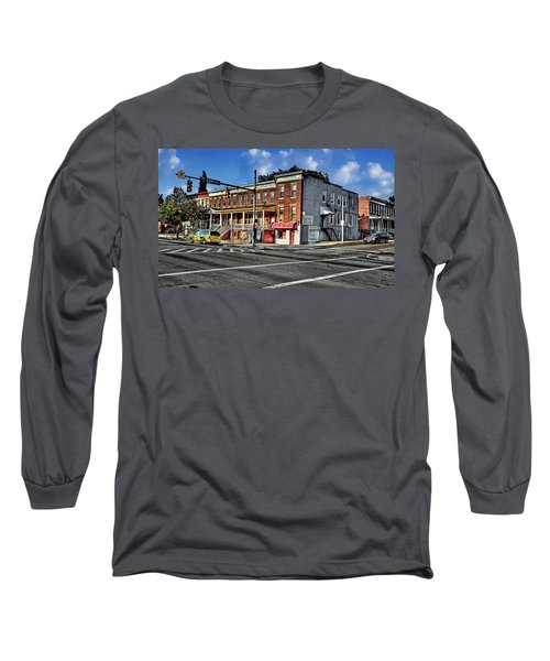 43rd Street And York Road Long Sleeve T-Shirt