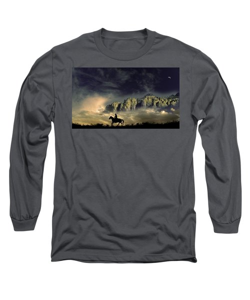 Long Sleeve T-Shirt featuring the photograph 4403 by Peter Holme III