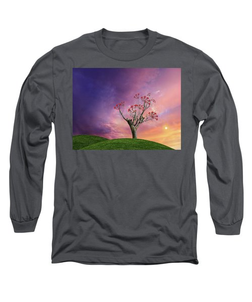 Long Sleeve T-Shirt featuring the photograph 4451 by Peter Holme III