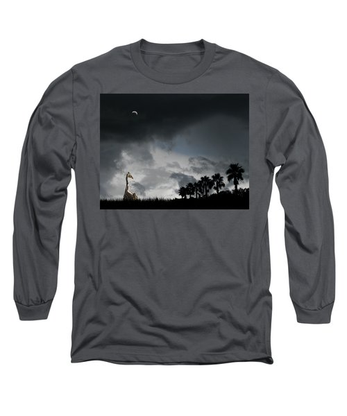 Long Sleeve T-Shirt featuring the photograph 4458 by Peter Holme III