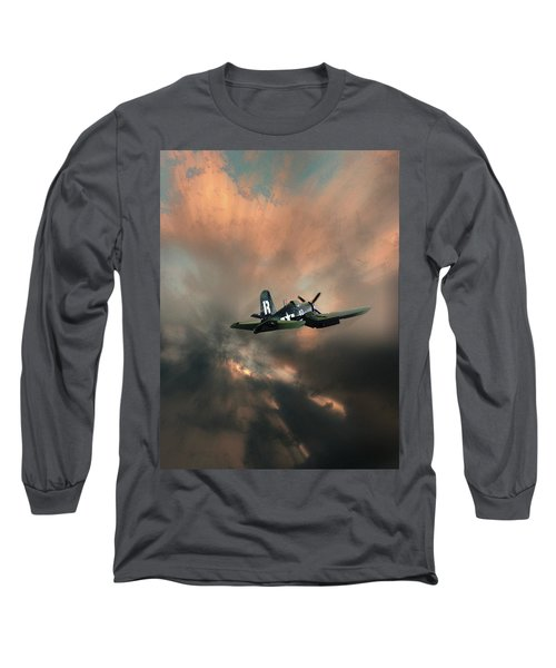 Long Sleeve T-Shirt featuring the photograph 4462 by Peter Holme III
