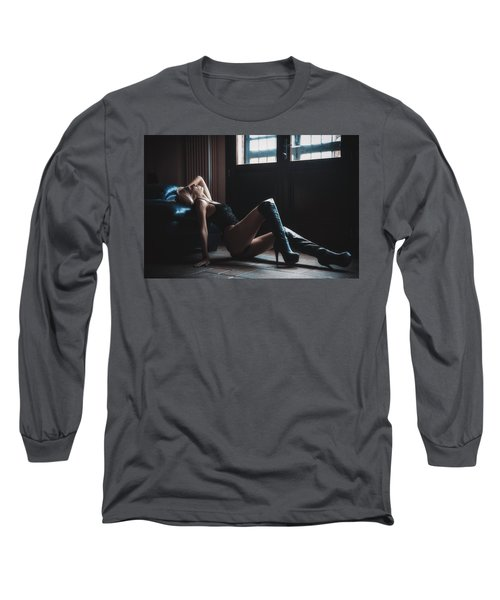 Long Sleeve T-Shirt featuring the photograph ... by Traven Milovich
