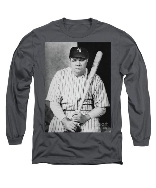 Babe Ruth Long Sleeve T-Shirt by American School
