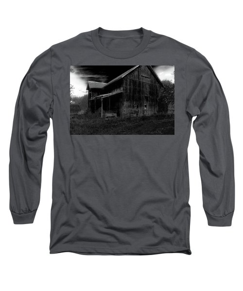 Barns In Pacific Northwest Long Sleeve T-Shirt