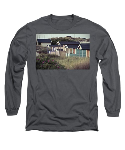 Beach Houses And Dunes Long Sleeve T-Shirt