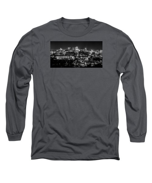 Birmingham Alabama Evening Skyline Long Sleeve T-Shirt