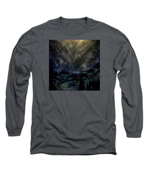 Cosmic Light Series Long Sleeve T-Shirt by Len Sodenkamp