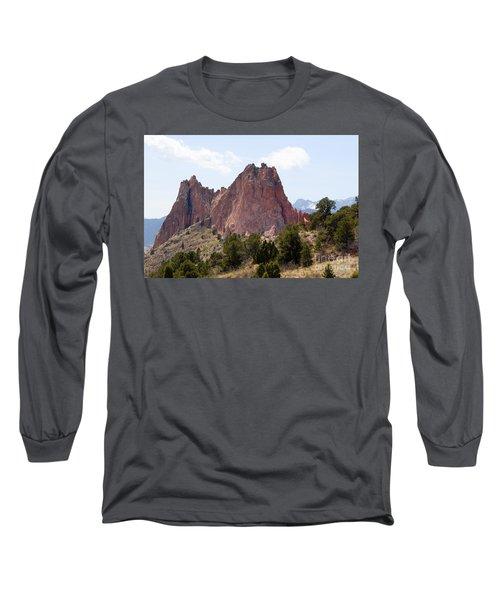 Dakota Trail At Garden Of The Gods Long Sleeve T-Shirt