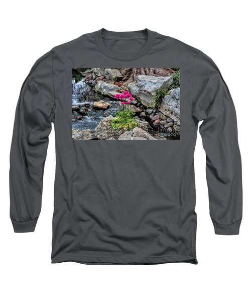 Long Sleeve T-Shirt featuring the photograph Dallas Arboretum by Diana Mary Sharpton