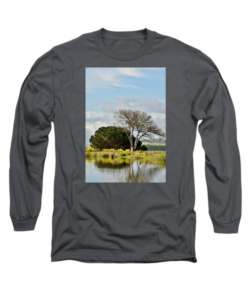 Long Sleeve T-Shirt featuring the photograph dead Tree by Werner Lehmann