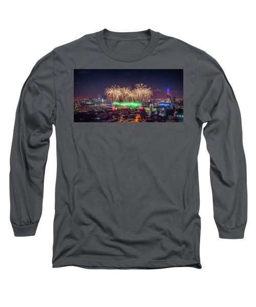 Happy New Year London Long Sleeve T-Shirt