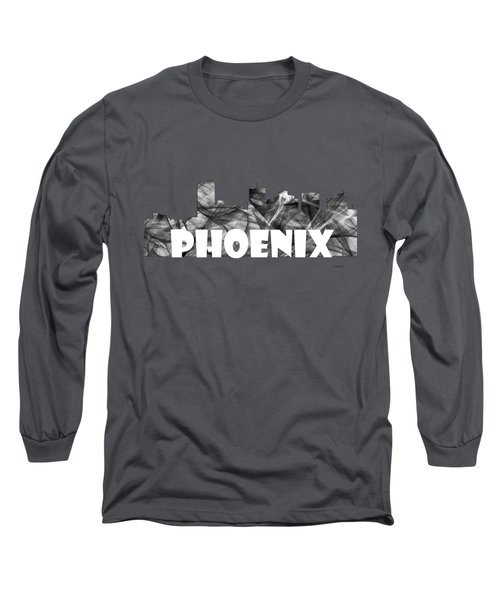 Phoenix Arizona Skyline Long Sleeve T-Shirt