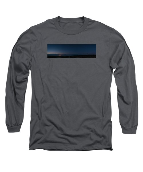 5 Planet Alignment Panorama Long Sleeve T-Shirt