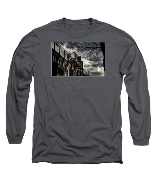 Pop Brixton - Spiral Staircase - Industrial Style Long Sleeve T-Shirt