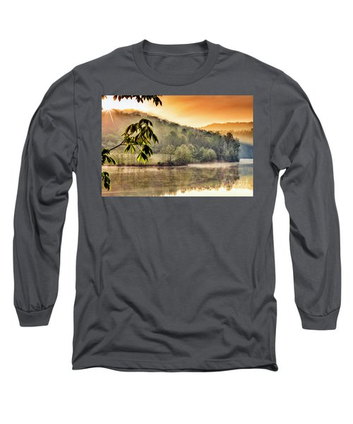 Stonewall Resort Sunrise Long Sleeve T-Shirt by Thomas R Fletcher