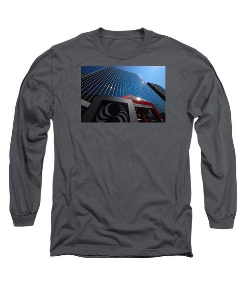 500 Rue Sherbrooke Ouest Long Sleeve T-Shirt by John Schneider