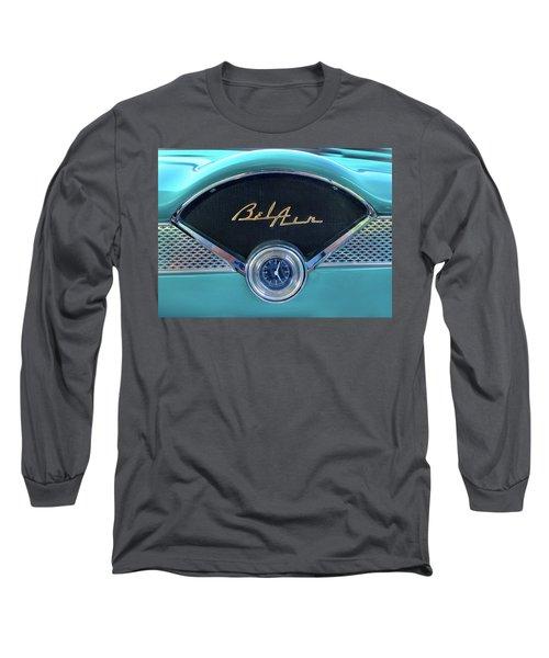 55 Chevy Dash Long Sleeve T-Shirt