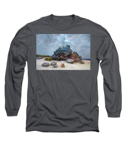 Agglestone Rock - England Long Sleeve T-Shirt