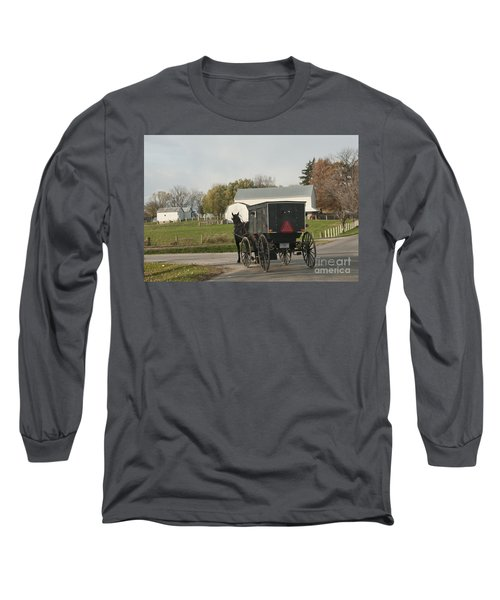 Amish Buggy Long Sleeve T-Shirt