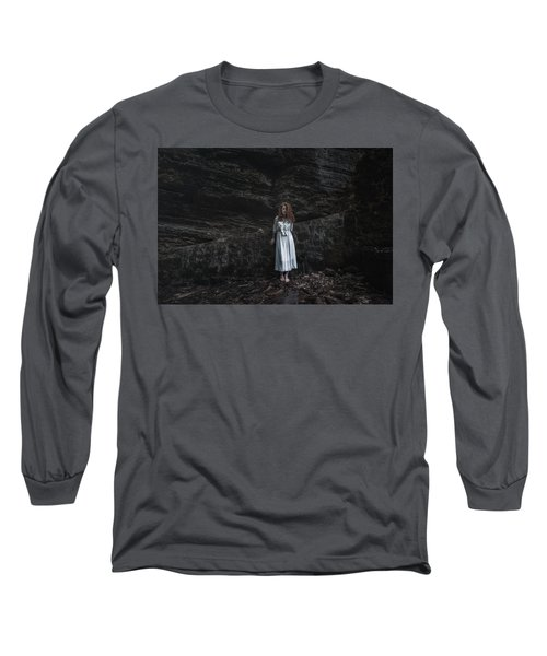 Long Sleeve T-Shirt featuring the photograph Aretusa by Traven Milovich