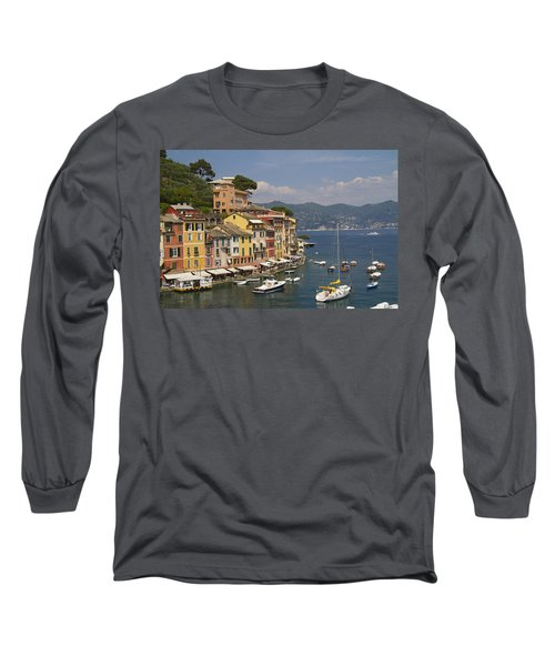 Portofino In The Italian Riviera In Liguria Italy Long Sleeve T-Shirt