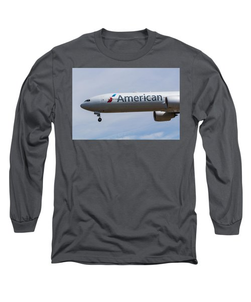 American Airlines Boeing 777 Long Sleeve T-Shirt