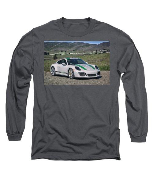 Long Sleeve T-Shirt featuring the photograph #porsche #911r #print by ItzKirb Photography