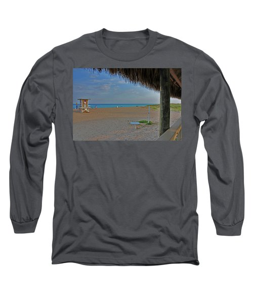 Long Sleeve T-Shirt featuring the photograph 7- Southern Beach by Joseph Keane